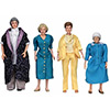 GOLDEN GIRLS CLOTH FIGS 8PC ASST