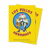 BREAKING BAD LOS POLLOS 100ct DECK PROTECTORS