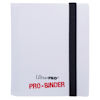 2 POCKET PRO SIDELOADING BINDER WHITE